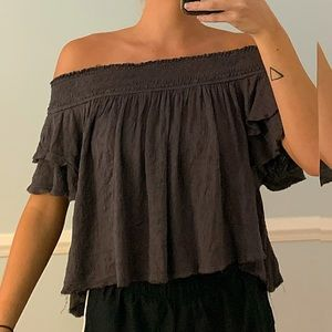 Free People Off The Shoulder Top🌚